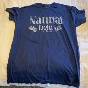 Hanes | Natural Light | Natty Light Beer T-shirt
